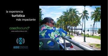 Catálogo CoachSound GPS Tour Entertainment - Gilsama