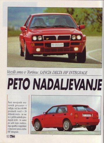 Prenesi PDF testa Lancia Lancia Delta HF integrale - Avto Magazin