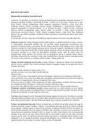 BOLEZNI ODVODNIC Diagnostični postopki pri boleznih ... - Mercator