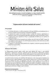 Tripanosomiasi africana (malattia del sonno) - Ministero della Salute
