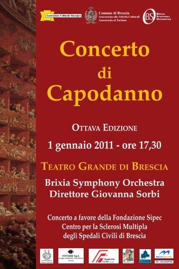 Brixia Symphony Orchestra Direttore Giovanna Sorbi - Agriturismo e ...