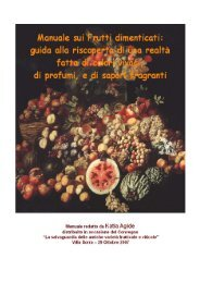 Manuale sui frutti dimenticati - Vivai Piante Gabbianelli