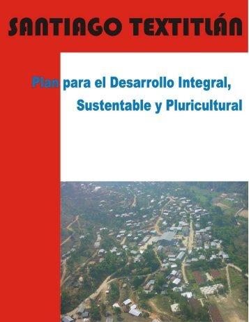 Plan de Desarrollo Integral, Sustetable y Pluricultural del Municipio ...