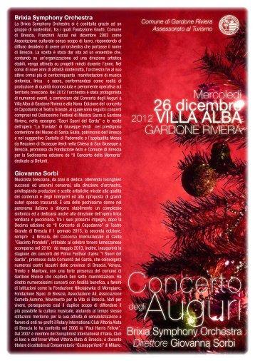 Concerto - Giovanna Sorbi