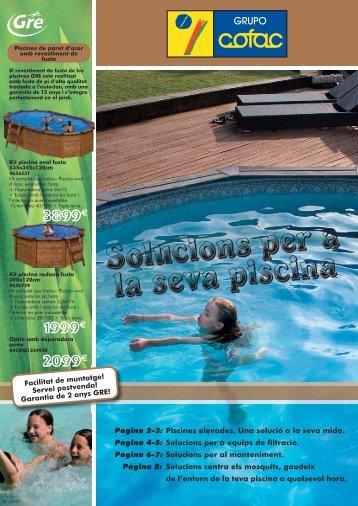 Solucions per a la seva piscina - Domenec Seguí ferreteria