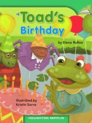 Lesson 10:Toad's Birthday