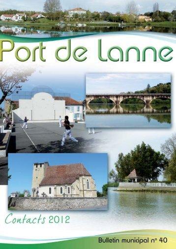 Bulletin municipal no 40 - Port de Lanne