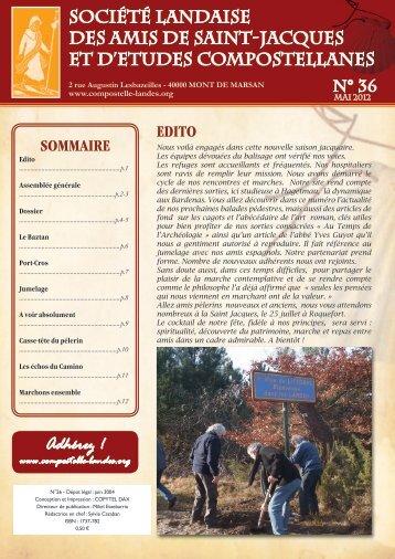 Adhérez ! - Société Landaise des Amis de Saint Jacques et d'Études ...