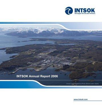 INTSOK Annual Report 2006