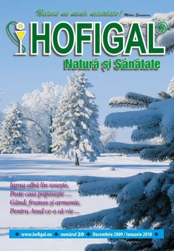 Iarna albă lin soseşte, Peste case poposeşte … Gând, frumos - Hofigal