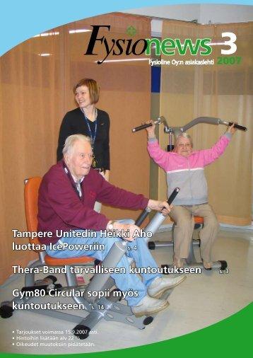 FysioNews 3/2007 - Fysioline