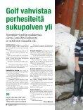 Vappu- lounaalle klubille Osakasedut esittelyssä Perhegolf sopii ... - Page 6