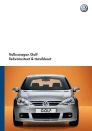 Volkswagen Golf lisävarusteet & tarvikkeet - Seat
