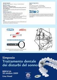 Trattamento dentale dei disturbi del sonno - E20 Srl