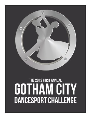 Download the Program - Gotham City Dancesport Challenge