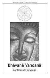 Livro de recitações da SBB - Sociedade Budista do Brasil
