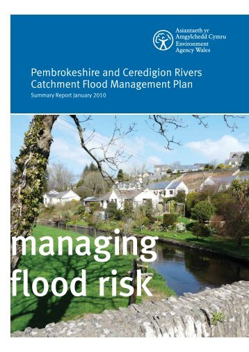 Pembrokeshire and Ceredigion Rivers Catchment Flood ...