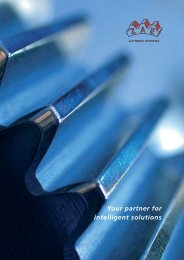 Your partner for intelligent solutions