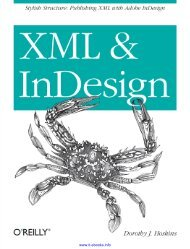 XML and InDesign - Reed T Bushey
