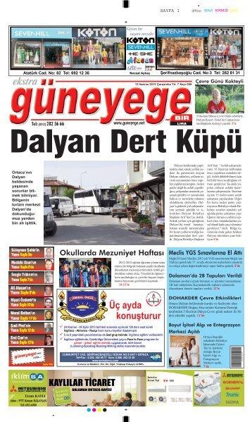 12 Haziran 2013 - Güney Ege Gazetesi