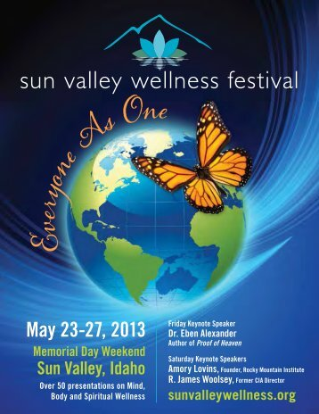 presenters - Sun Valley Wellness Festival