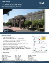 CAMPUS POINTE BREA - Voit Real Estate Services
