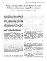 Perda Adicional no Núcleo em Transformadores Trifásicos ...