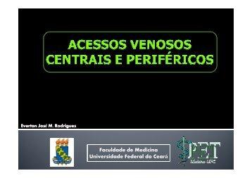 (Microsoft PowerPoint - ACESSOS VENOSOS CENTRAIS E PERIF ...