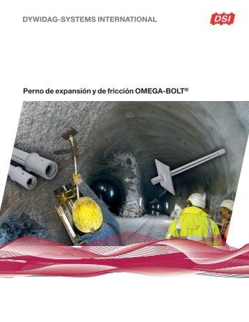 Perno de expansión y de fricción OMEGA-BOLT®