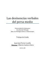 Las desinencias verbales del persa medio - Avestan Digital Archive ...
