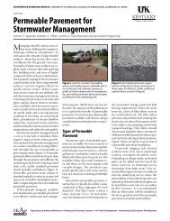 AEN-108: Permeable Pavement for Stormwater Management