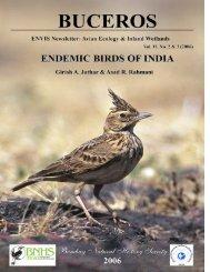 Endemic Birds of India - ENVIS Centre on Avian Ecology