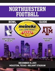 BOWL GUIDE - Community - CBS Sports Network