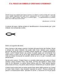 È IL PESCE UN SIMBOLO CRISTIANO O ROMANO? - Branham.it