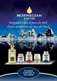 depliant grande - Olio di pesce norvegese - Home