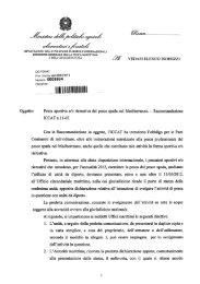 Circolare pesce spada - Ministero delle Politiche Agricole e Forestali