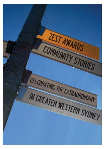 ZEST Awards Community Stories Booklet