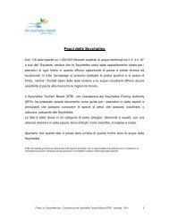 Pesci delle Seychelles - Seychelles Tourism Board