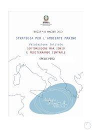 SPECIE PESCI - La strategia marina - Ispra