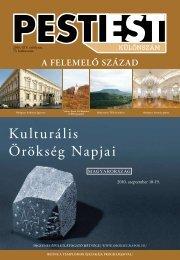 Pesti Est - Kulturális Örökség Napjai