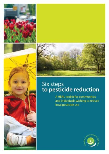 Six steps to pesticide reduction: with resources - Pesticides & Cancer