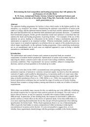 Determining the feed composition and feeding programme ... - CABI