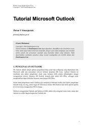 Tutorial Microsoft Outlook - E-Learning