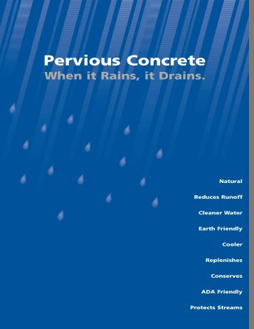Pervious Concrete Brochure v2.qxd