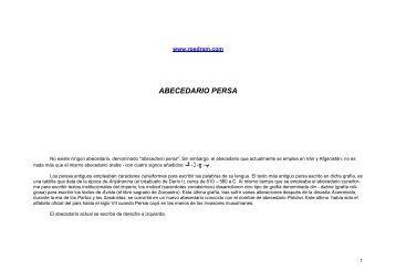ABECEDARIO PERSA - TraductorIrani