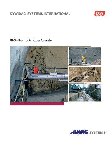 IBO - Perno Autoperforante - DYWIDAG Systems International