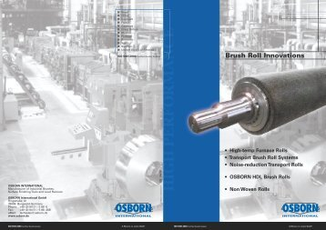 Download flyer - OSBORN International GmbH