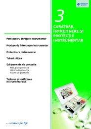 3. Curatare, intretinere si protectie instrumentar - tehnoplus medical