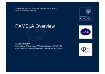 PAMELA Overview