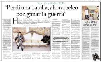 """""""Perdí una batalla, ahora peleo por ganar la guerra"""" - El Diario de Hoy"""